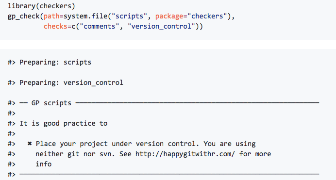 Unconf projects 2: checkers, gramr, data-packages, exploRingJSON